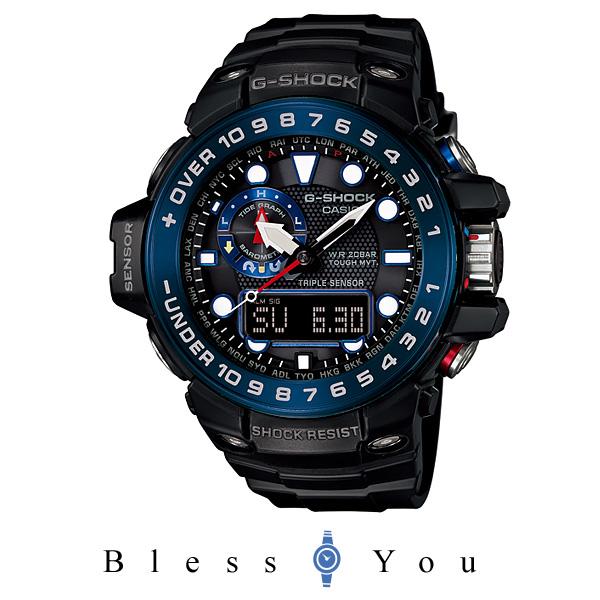 高度計 気圧計 [カシオ]CASIO 腕時計 G-SHOCK GULFMASTER トリプルセンサー GWN-1000B-1BJF メンズ