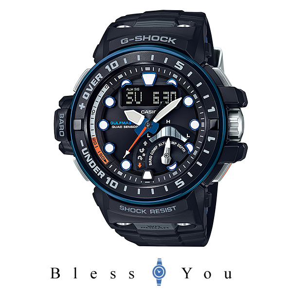 [2017年9月新作] カシオ Gショック メンズ 腕時計 高度計 GWN-Q1000A-1AJF 78,0