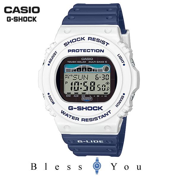 CASIO G-SHOCK カシオ ソーラー電波 腕時計 メンズ Gショック 2019年5月新作 G-LIDE GWX-5700SS-7JF 22,0