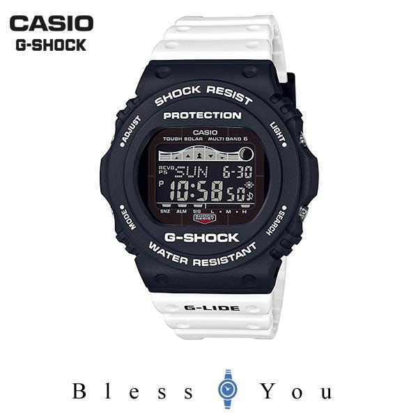 CASIO G-SHOCK カシオ ソーラー電波 腕時計 メンズ Gショック 2019年5月新作 G-LIDE GWX-5700SSN-1JF 22,0