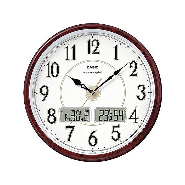 カシオ 掛け時計 電波 温湿度計 ITM-200J-5BJF 新品お取り寄せ 8,0