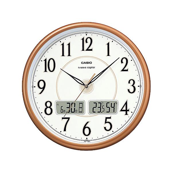 カシオ 掛け時計 電波 温湿度計 ITM-200J-5JF 新品お取り寄せ 8,0