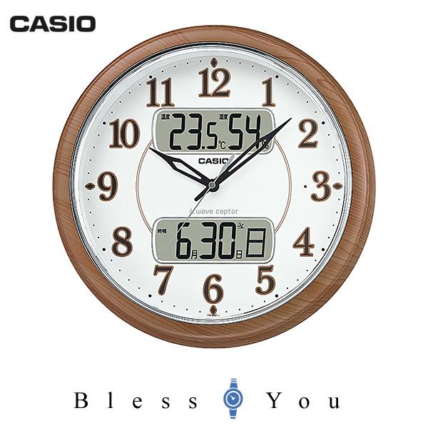 casio カシオ 掛け時計 フルブライト夜見えライト 温度・湿度計付 ITM-900FLJ-5JF 16,5