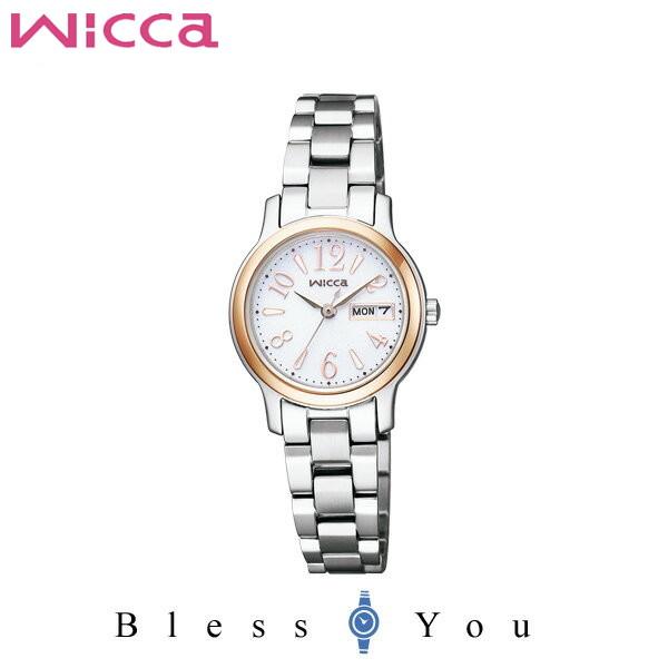 シチズン CITIZEN ウィッカ wicca ソーラーテック シンプルアジャスト レディース 腕時計 KH3-436-11