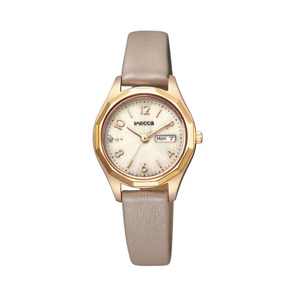 シチズン ウィッカ レディース 腕時計 ソーラー KH3-525-90 18,0