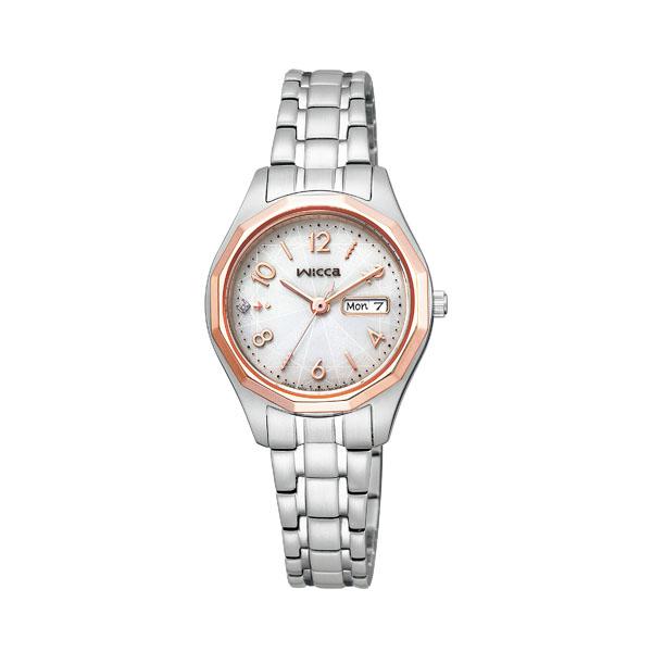 シチズン ウィッカ レディース 腕時計 ソーラー KH3-533-11 20,0
