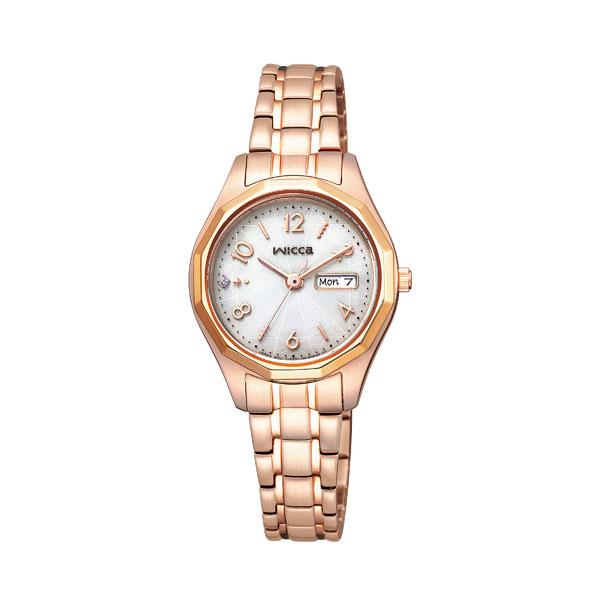 シチズン ウィッカ レディース 腕時計 ソーラー KH3-568-11 22,0