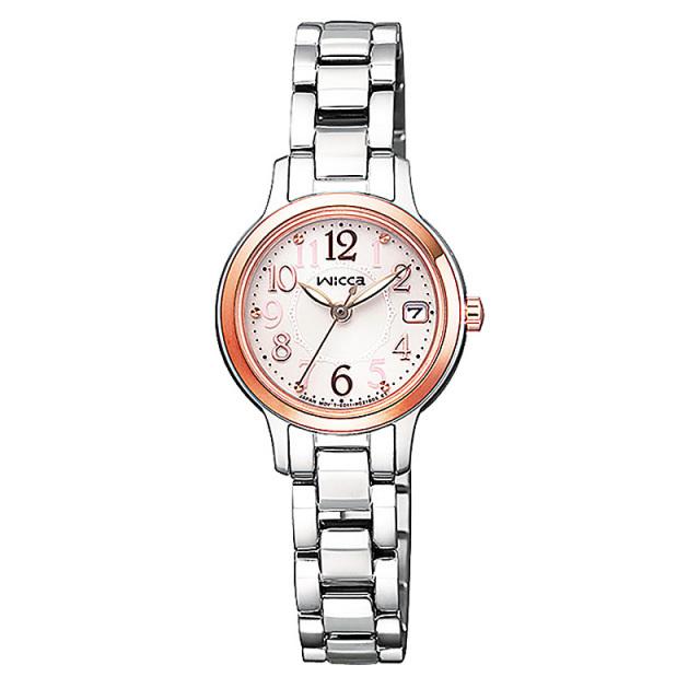 シチズン ウィッカ レディース 腕時計 ソーラー KH4-939-91 新品お取り寄せ 23,0