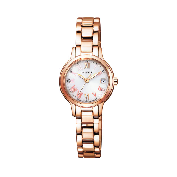 CITIZEN WICCA シチズン ソーラー 腕時計 レディース ウィッカ 2021年3月 KH4-963-11 26,0