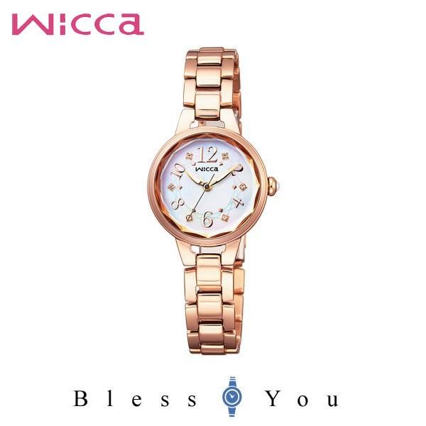 シチズン CITIZEN ウィッカ wicca ソーラーテック 白蝶貝 レディース 腕時計 KH8-527-11