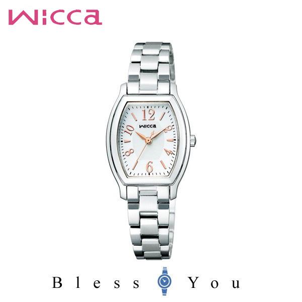 シチズン CITIZEN ウィッカ wicca ソーラーテック スタンダード レディース 腕時計 KH8-713-11
