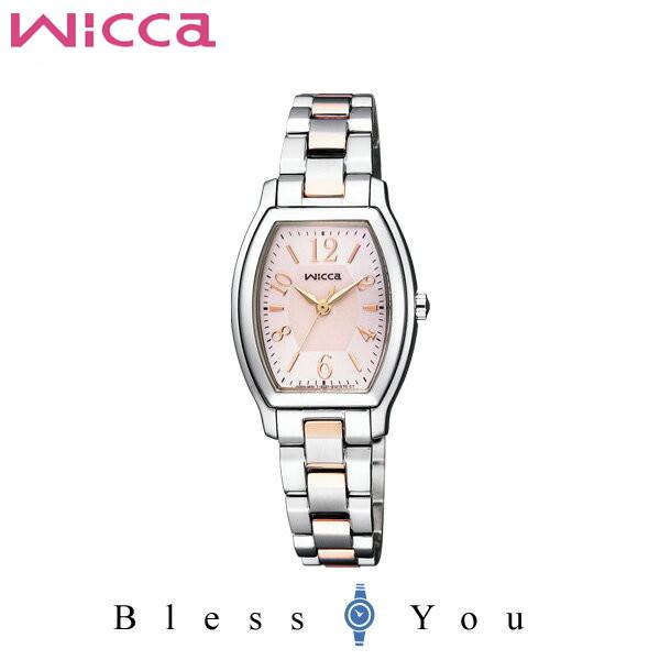 シチズン CITIZEN ウィッカ wicca ソーラーテック スタンダード レディース 腕時計 KH8-730-93
