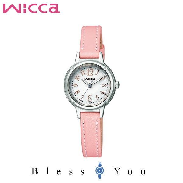 シチズン CITIZEN ウィッカ wicca ソーラーテック 革ベルト レディース 腕時計 KH9-914-10