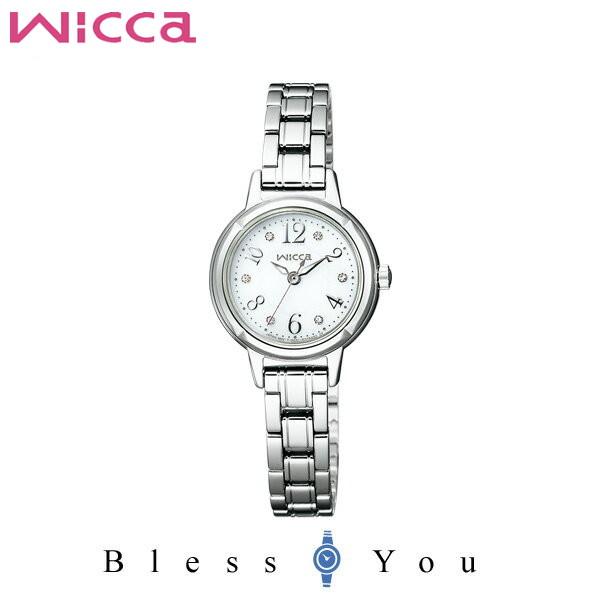 シチズン CITIZEN ウィッカ wicca ソーラーテック スワロフスキー・クリスタル レディース 腕時計 KH9-914-15