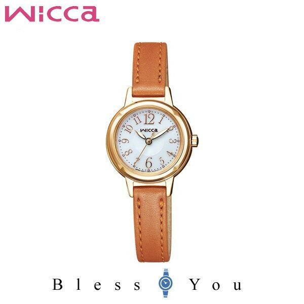 シチズン CITIZEN ウィッカ wicca 革ベルト レディース 腕時計 KH9-922-12