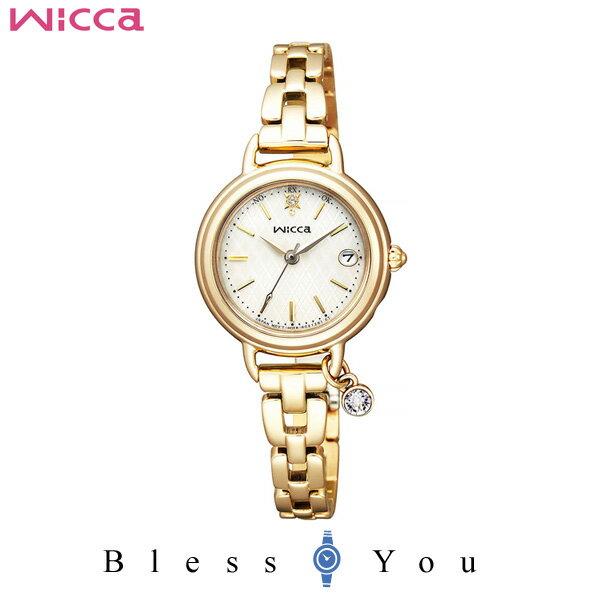 シチズン CITIZEN ウィッカ wicca 電波時計 レディース 腕時計 KL0-511-91