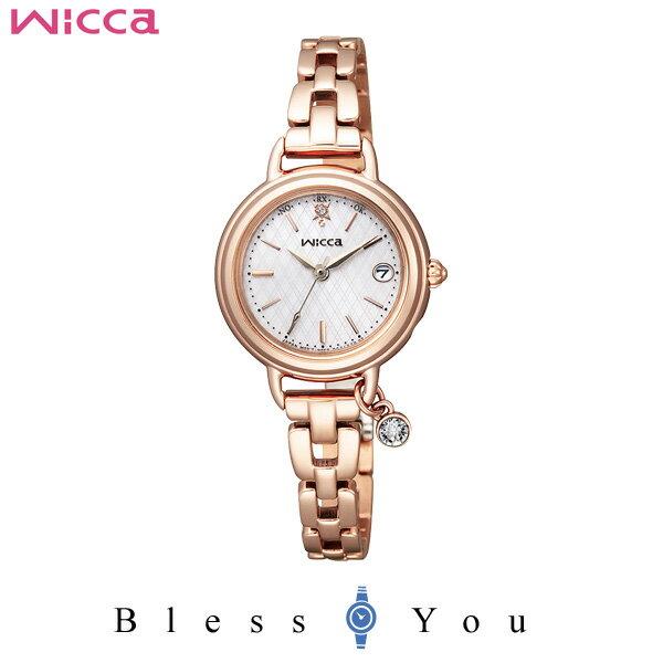 シチズン CITIZEN ウィッカ wicca 電波時計 レディース 腕時計 KL0-529-31
