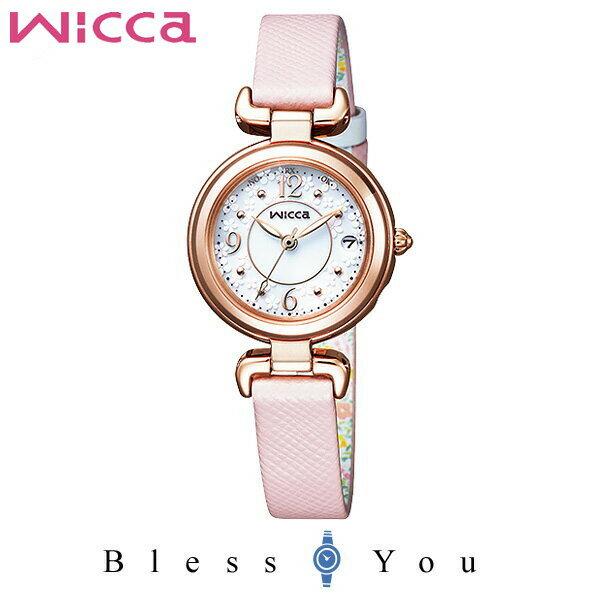 シチズン ソーラー電波 腕時計 レディース ウィッカ KL0-669-15 35,0