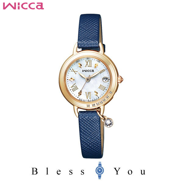 CITIZEN WICCA シチズン 電波ソーラー 腕時計 レディース ウィッカ KL0-821-10 37,0