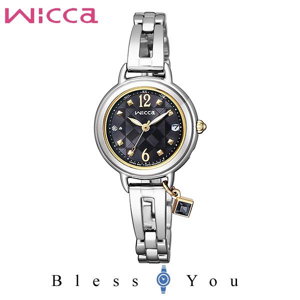 CITIZEN wicca シチズン ソーラー電波 腕時計 レディース ウィッカ KL0-910-51 34,0