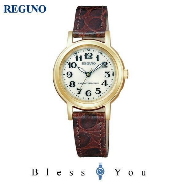 シチズン レグノ レディース 腕時計 ソーラーテック 電波時計 KL4-125-30 20,0