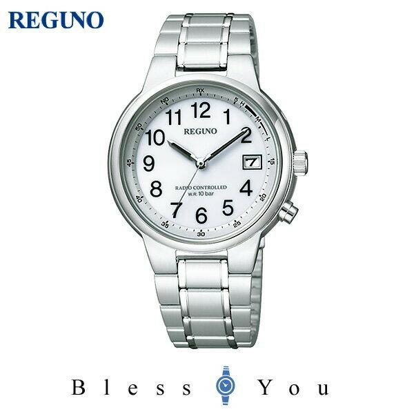 シチズン レグノ メンズ 腕時計 ソーラーテック 電波時計 KL8-112-93 21,0