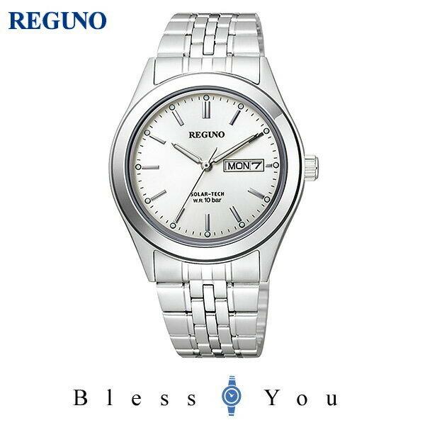 シチズン レグノ メンズ 腕時計 ソーラーテック KM1-113-11 10,0