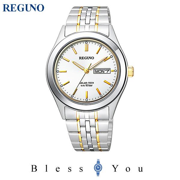 シチズン レグノ メンズ 腕時計 ソーラーテック KM1-113-13 11,0