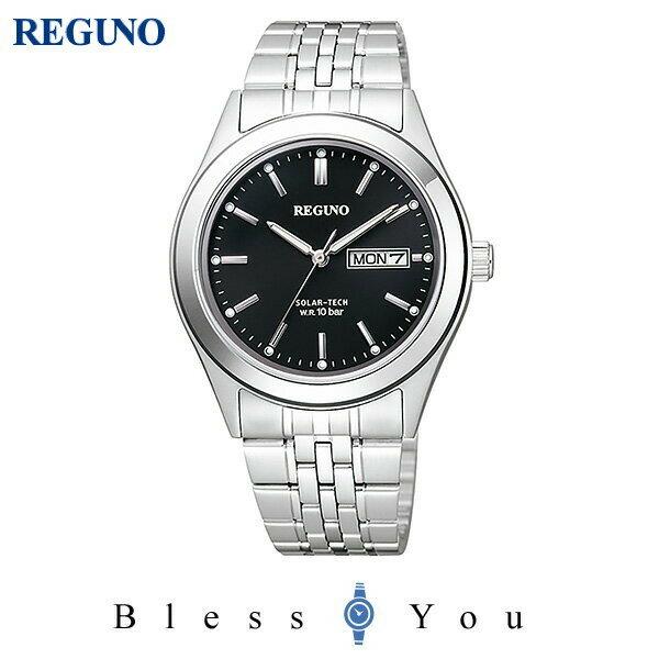 シチズン レグノ メンズ 腕時計 ソーラーテック KM1-113-51 10,0