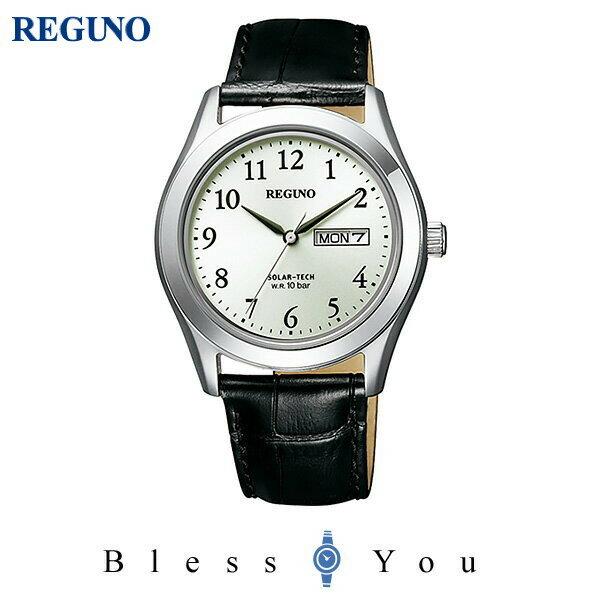 シチズン レグノ メンズ 腕時計 ソーラーテック KM1-211-10 7,5
