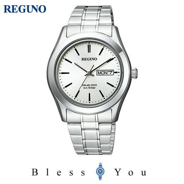 シチズン レグノ メンズ 腕時計 ソーラーテック KM1-211-11 7,5
