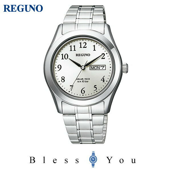 シチズン レグノ メンズ 腕時計 ソーラーテック KM1-211-13 7,5
