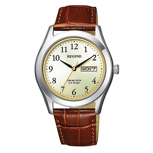 シチズン レグノ メンズ 腕時計 ソーラーテック KM1-211-30 7,5