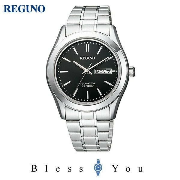 シチズン レグノ メンズ 腕時計 ソーラーテック KM1-211-51 7,5