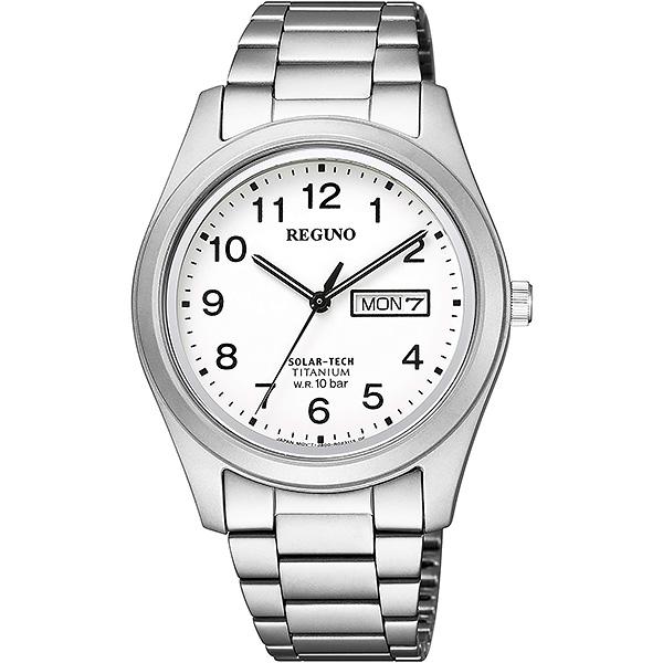 CITIZEN REGUNO シチズン ソーラー メンズ 腕時計 レグノ KM1-415-13 18,0