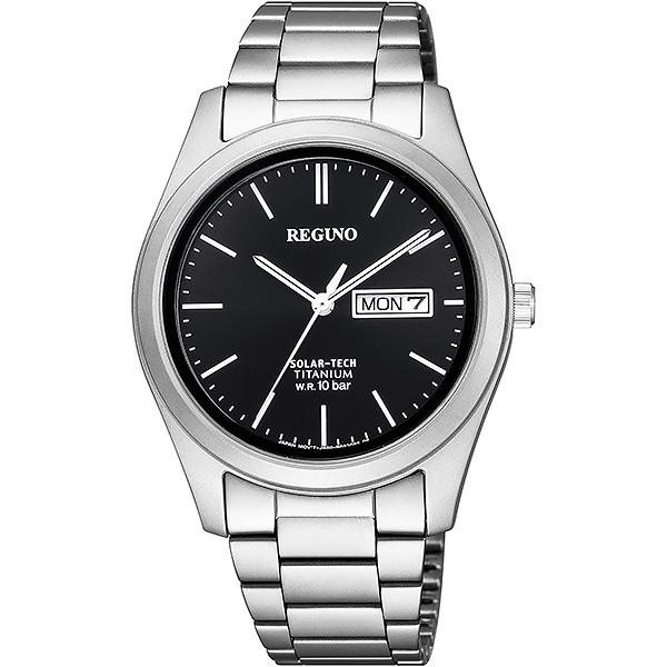 CITIZEN REGUNO シチズン ソーラー メンズ 腕時計 レグノ KM1-415-51 18,0
