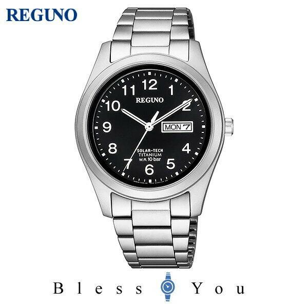 CITIZEN REGUNO シチズン ソーラー メンズ 腕時計 レグノ KM1-415-53 18,0
