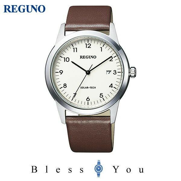シチズン レグノ メンズ 腕時計 ソーラーテック KM3-116-10 13,0