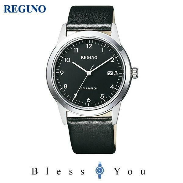シチズン レグノ メンズ 腕時計 ソーラーテック KM3-116-50 13,0