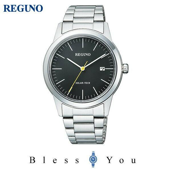 シチズン レグノ メンズ 腕時計 ソーラーテック KM3-116-53 15,0