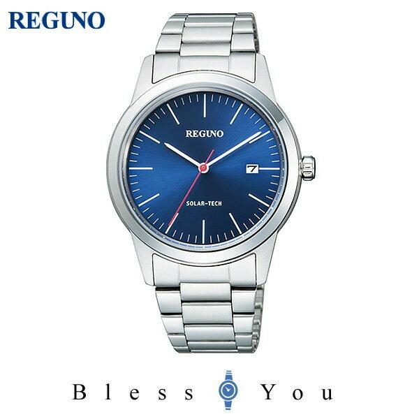 シチズン レグノ メンズ 腕時計 ソーラーテック KM3-116-71 15,0