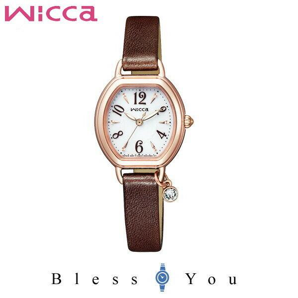シチズン ソーラー レディース ウィッカ CITIZEN Wicca 腕時計 KP2-566-10 25,0