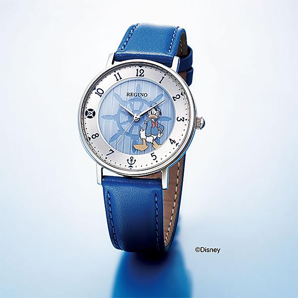 CITIZEN REGUNO シチズン ソーラー ドナルドダック 腕時計 メンズ レグノ 2018年6月発売 KP3-112-10 22,0