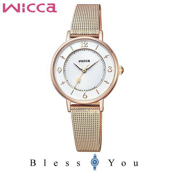 CITIZEN wicca シチズン ソーラー レディース 腕時計 ウィッカ KP3-465-13 23,0