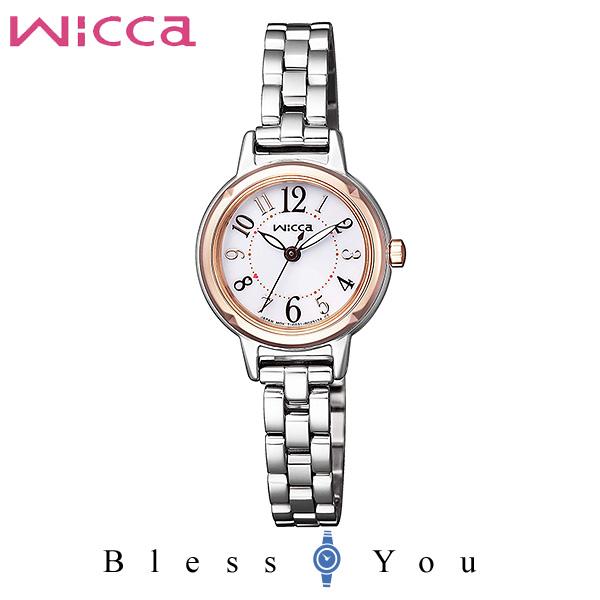 CITIZEN wicca シチズン ソーラー 腕時計 レディース ウィッカ KP3-619-11 17,0