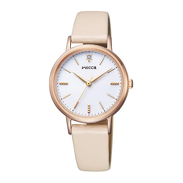 CITIZEN wicca シチズン ソーラー 腕時計 レディース ウィッカ 2019年4月 KP5-166-10 19,0