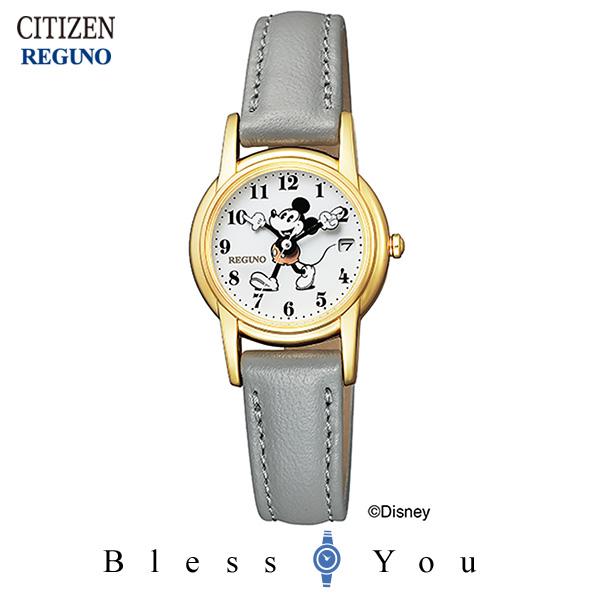CITIZEN REGUNO シチズン ソーラーテック 腕時計 レディース レグノ ディズニーコレクション 2019年7月 KP7-126-10 18,0