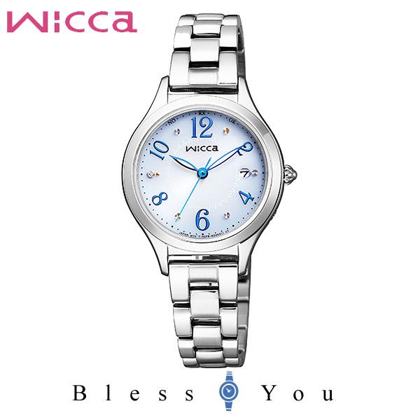 CITIZEN wicca シチズン ソーラー電波 腕時計 レディース ウィッカ 2019年2月 KS1-210-91 32,0