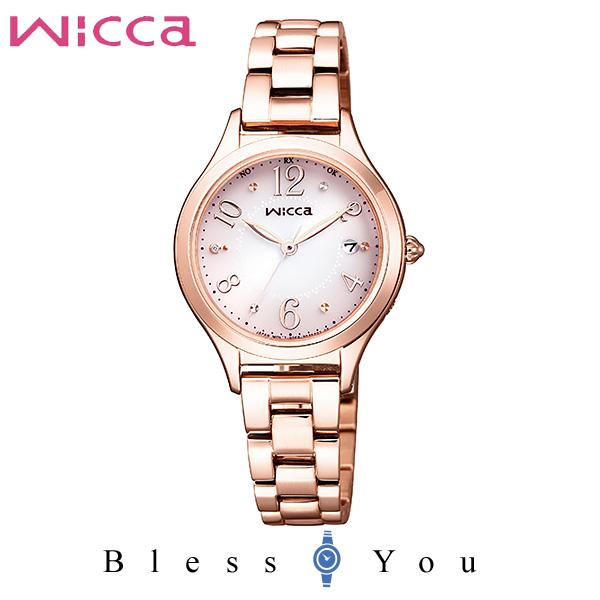 CITIZEN wicca シチズン ソーラー電波 腕時計 レディース ウィッカ 2019年2月 KS1-261-91 36,0