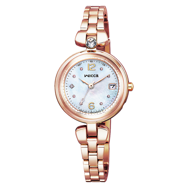 CITIZEN wicca シチズン ソーラー電波 腕時計 レディース ウィッカ 2020年11月発売 KS1-660-91 38,0